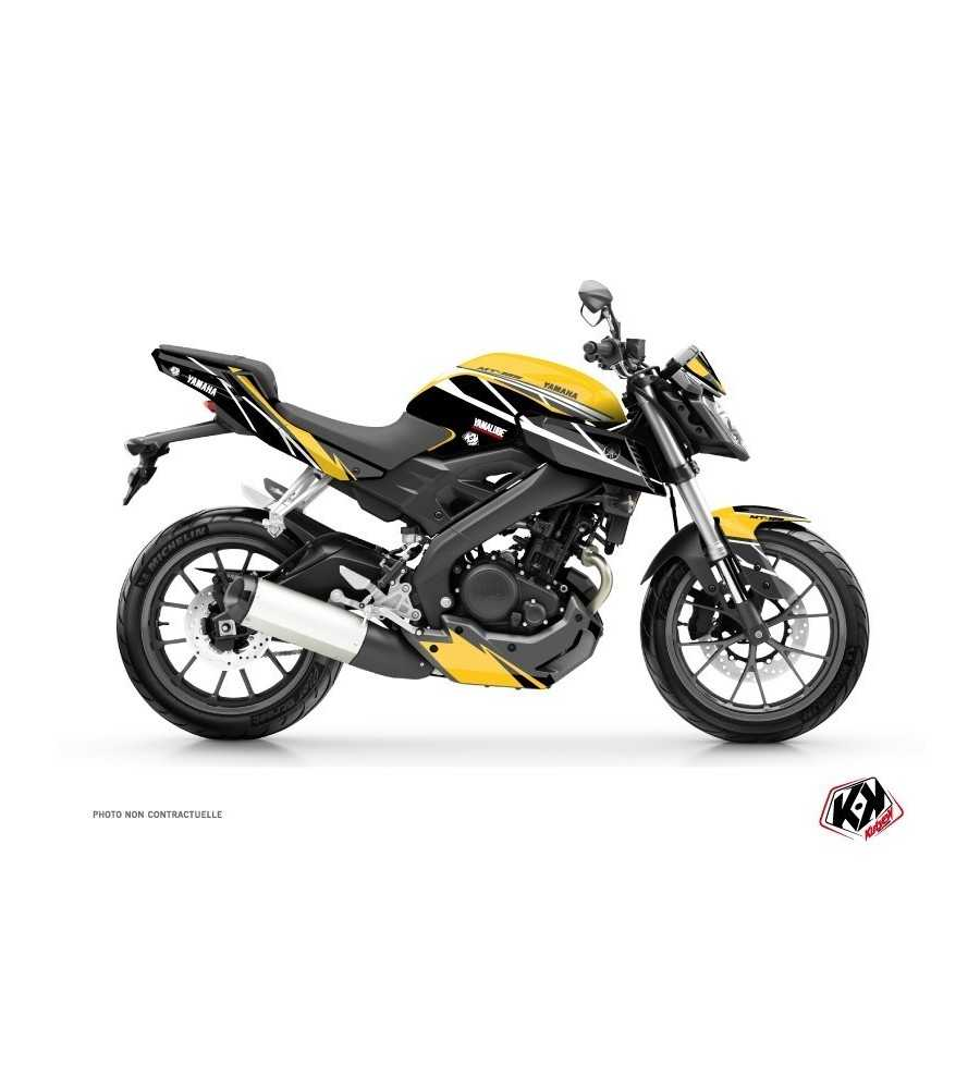 kit d co moto replica yamaha mt 125 60th anniversary mt 125. Black Bedroom Furniture Sets. Home Design Ideas