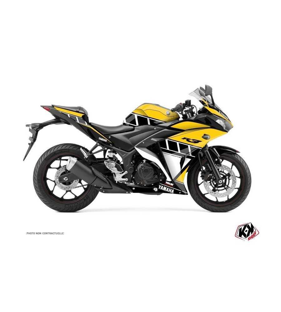 Kit Déco Moto Vintage Yamaha R3 60th Anniversary