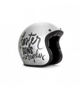 CASQUE JET GREY YAMAHA FASTER SONS