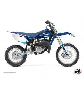 Kit Déco Moto Cross Stage Yamaha 85 YZ Bleu