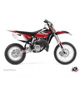 Kit Déco Moto Cross Stage Yamaha 85 YZ Noir - Rouge