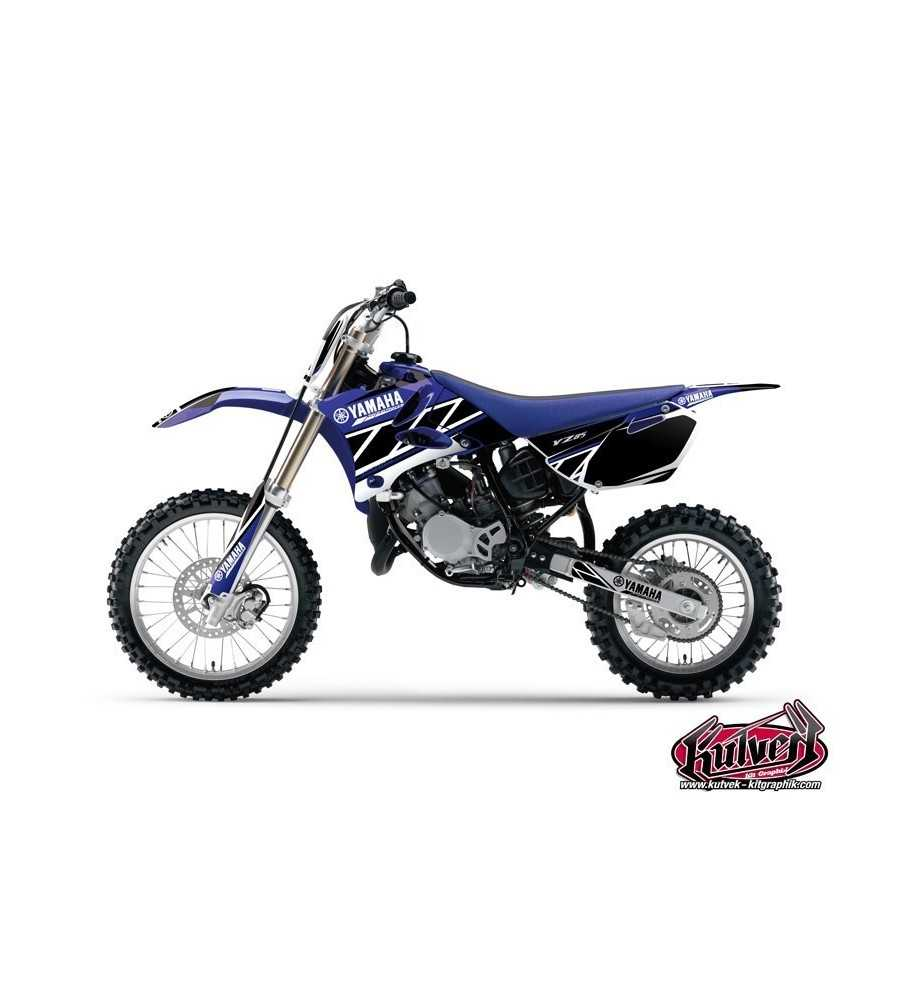 Kit Déco Moto Cross Replica Yamaha 85 YZ Bleu