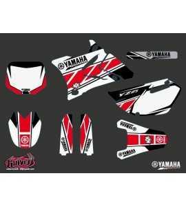 Kit Déco Moto Cross Replica Yamaha 85 YZ Rouge