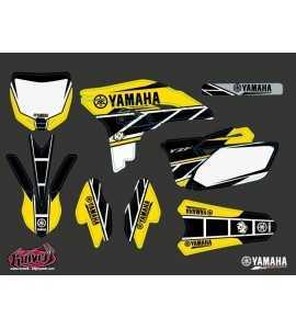 Kit Déco Moto Cross Replica Yamaha 250 YZF Jaune