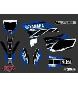 Kit Déco Moto Cross Replica Yamaha 250 YZF Bleu
