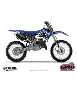 Kit Déco Moto Cross Replica Yamaha 250 YZF Bleu