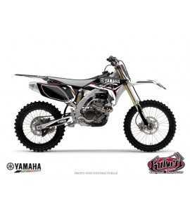 Kit Déco Moto Cross Concept Yamaha 250 YZF Noir