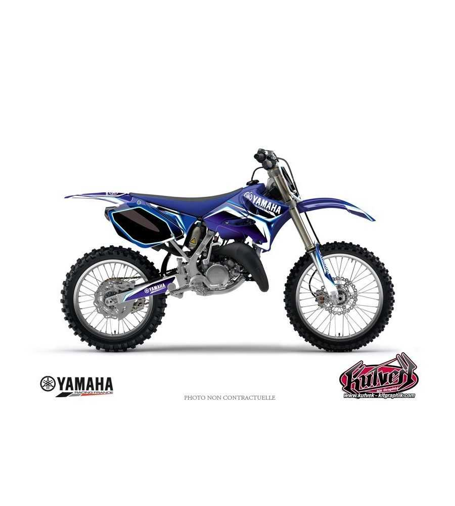 kit d co moto cross concept yamaha 250 yzf bleu yzf 250. Black Bedroom Furniture Sets. Home Design Ideas