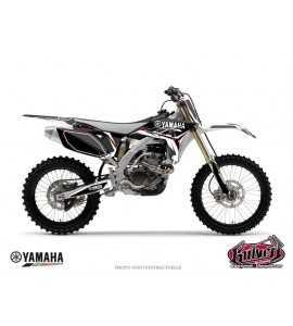 Kit Déco Moto Cross Concept Yamaha 450 YZF Noir