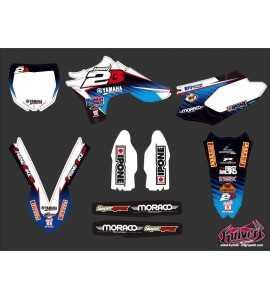 Kit Déco Moto Cross Yamaha 450 YZF Team 2B - 2012
