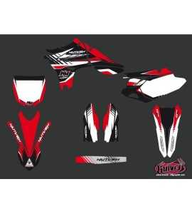Kit Déco Moto Cross Pulsar Yamaha 450 YZF Rouge 2005-2015