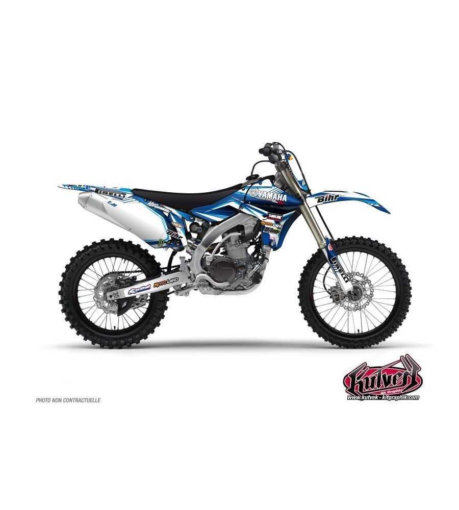 Kit Déco Moto Cross Yamaha 450 YZF Adrien Van Beveren - 2012