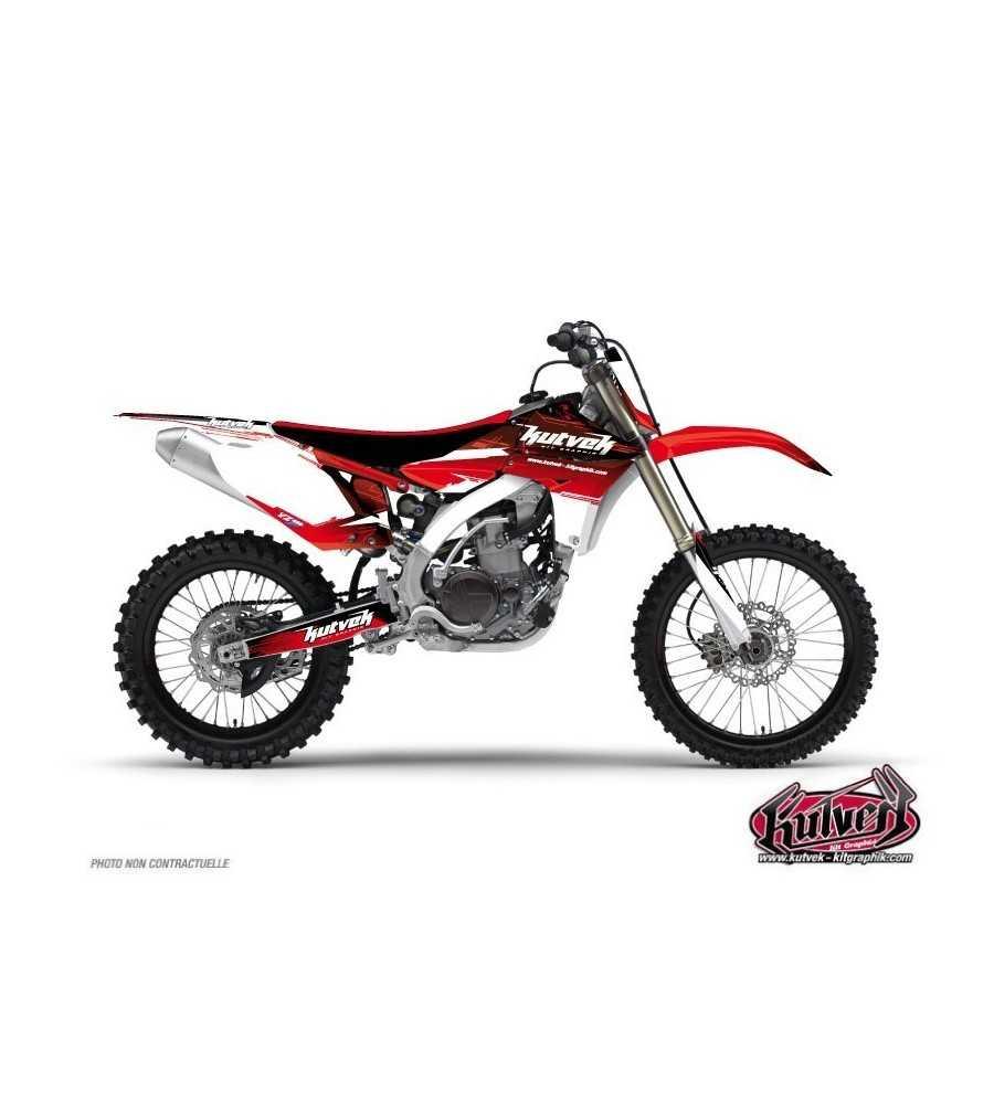 Kit Déco Moto Cross Slider Yamaha 450 YZF Rouge 2005-2015
