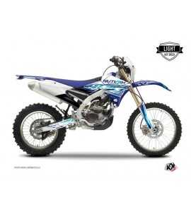 Kit Déco Moto Cross Eraser Yamaha 450 WRF Bleu LIGHT