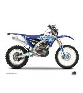 Kit Déco Moto Cross Eraser Yamaha 450 WRF Bleu