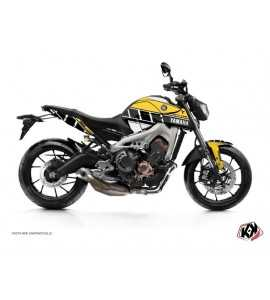 Kit Déco Moto Vintage Yamaha MT 09 60th Anniversary