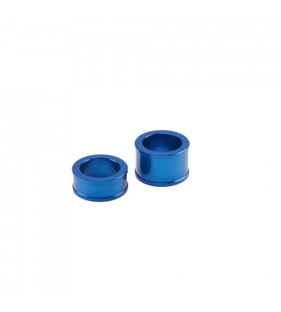 Entretoises bleues roue arrière - Axe 25 mm 250 YZF