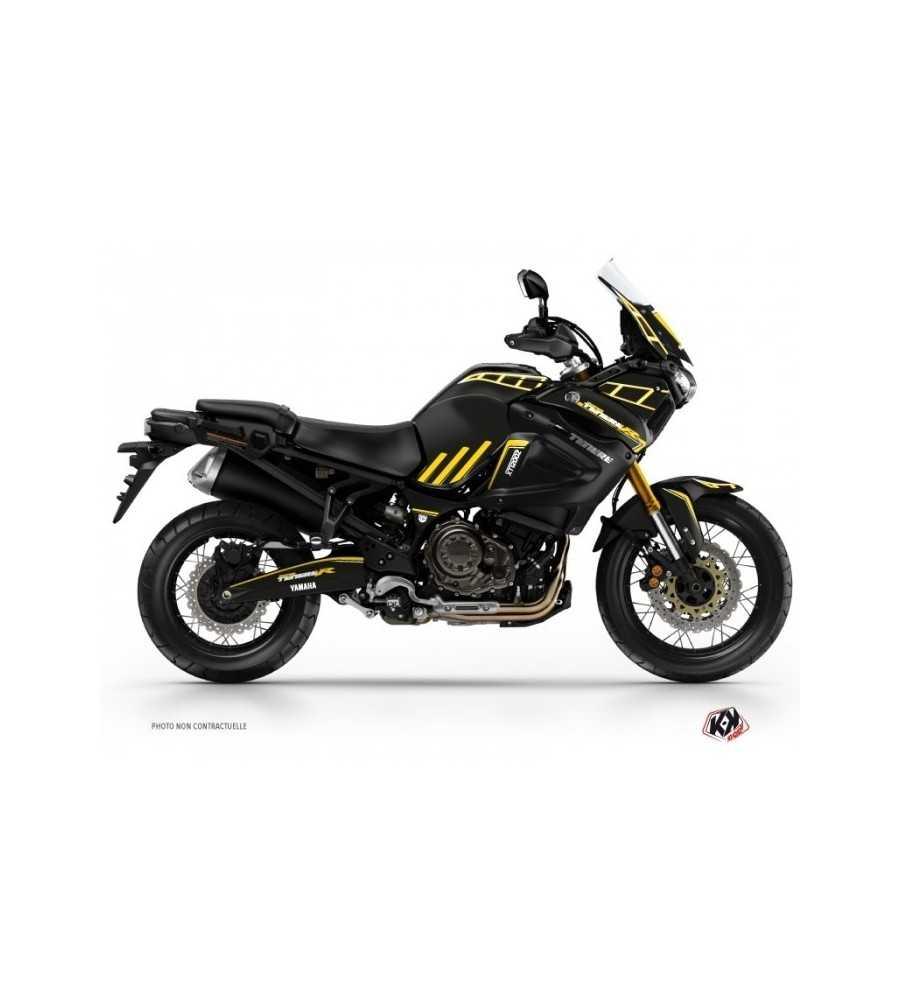 Kit Déco XTZ 1200 Super Ténéré ADVENTURE Noir Jaune