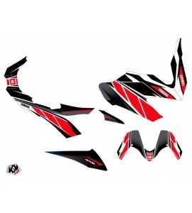 Kit déco T-MAX 530 Rouge noir REPLICA