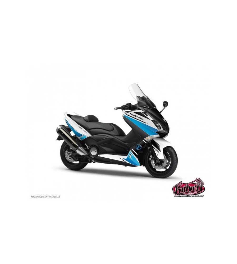 Kit déco T-MAX 530 BLANC BLEU COOPER