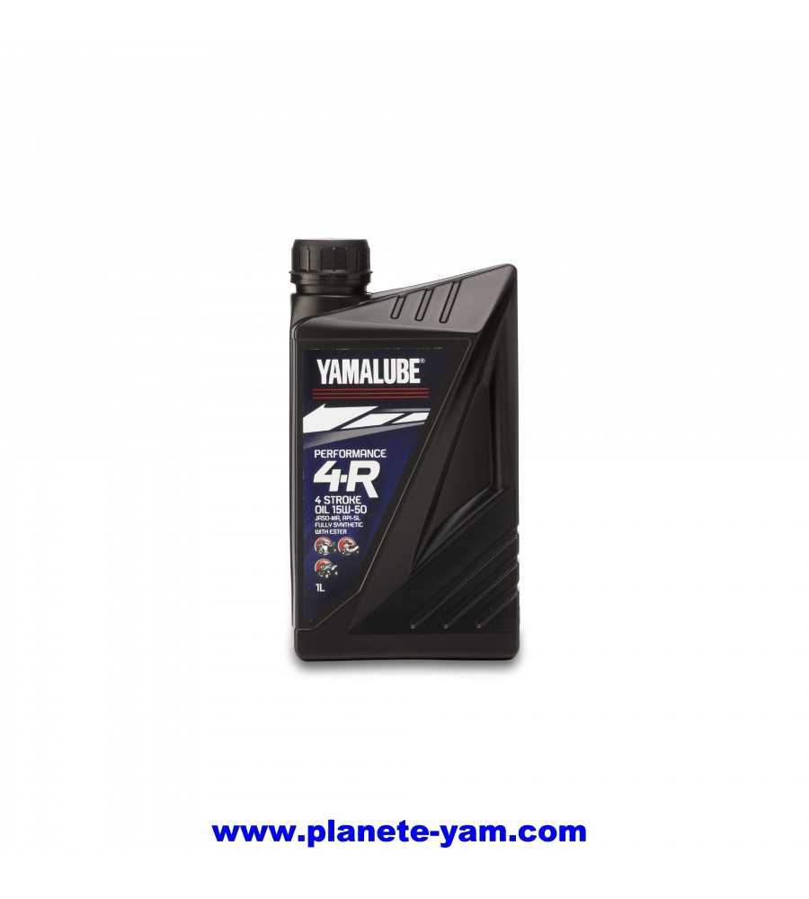Huile moteur Yamalube Performance 4t 100% synthese 15w50 1L