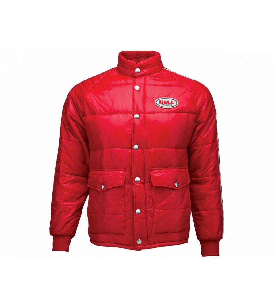 Taille Classic Puffy Bell Rouge Veste Xxl f6gb7y