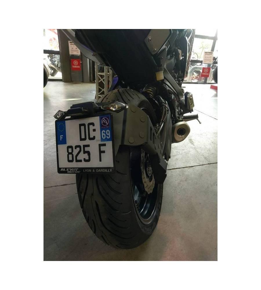 Support De Plaque Access Design Ras De Roue Noir Yamaha Mt 07 Tracer