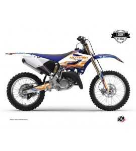 Kit Déco Erazer Yamaha 125-250 YZ Bleu – Orange
