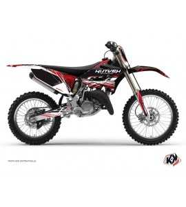 Kit Déco Erazer Yamaha 125-250 YZ Rouge – Blanc