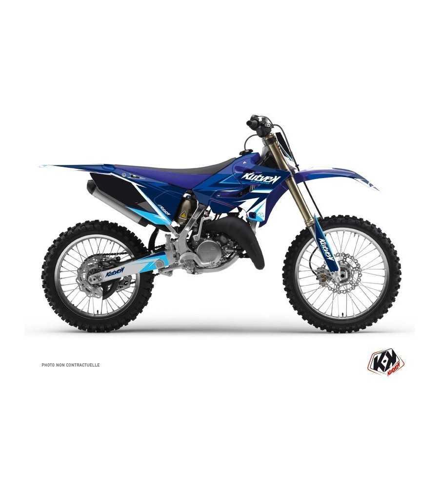 Kit Déco Stage Yamaha 125 YZ Bleu
