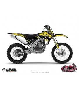 KIT DÉCO MOTO CROSS REPLICA YAMAHA 125 – 250 YZ JAUNE