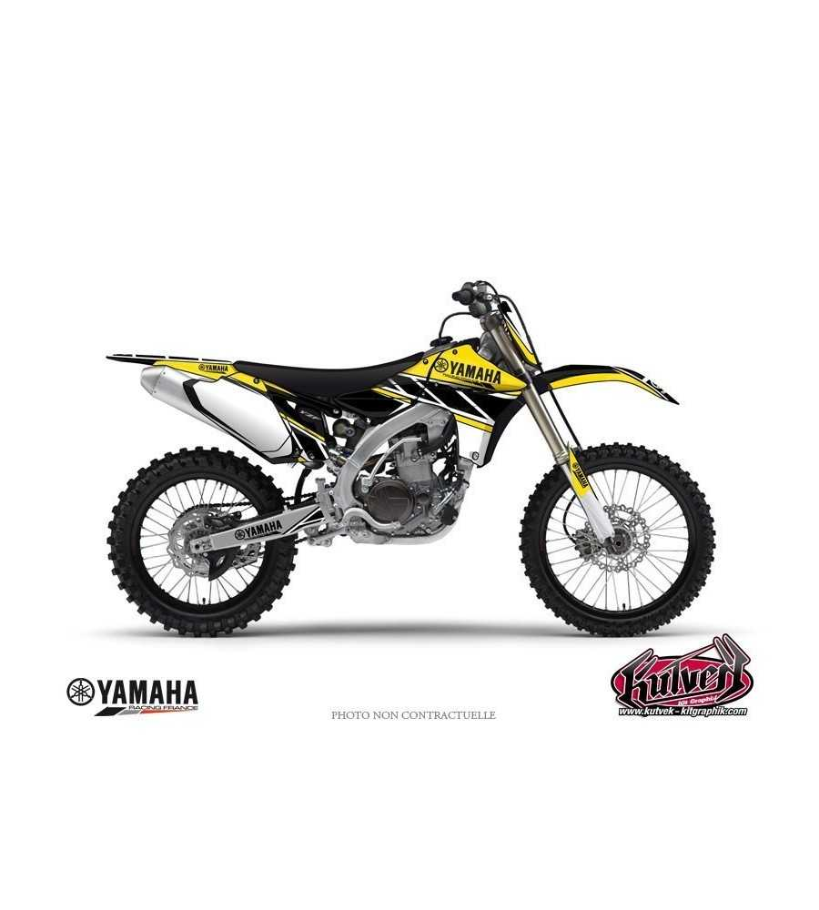 kit d co yamaha 125 250 yz replica jaune yz 125. Black Bedroom Furniture Sets. Home Design Ideas