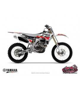 KIT DÉCO MOTO CROSS REPLICA YAMAHA 125 – 250 YZ ROUGE
