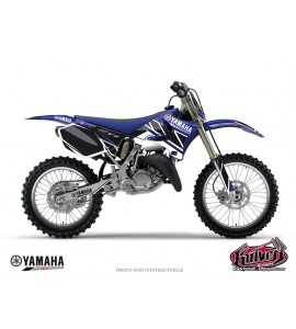 KIT DÉCO MOTO CROSS REPLICA YAMAHA 125 – 250 YZ BLEU