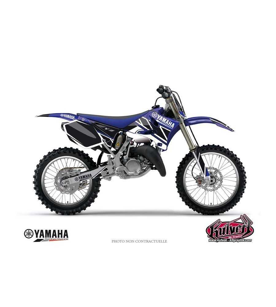 kit d co yamaha 125 250 yz replica bleu yz 125. Black Bedroom Furniture Sets. Home Design Ideas
