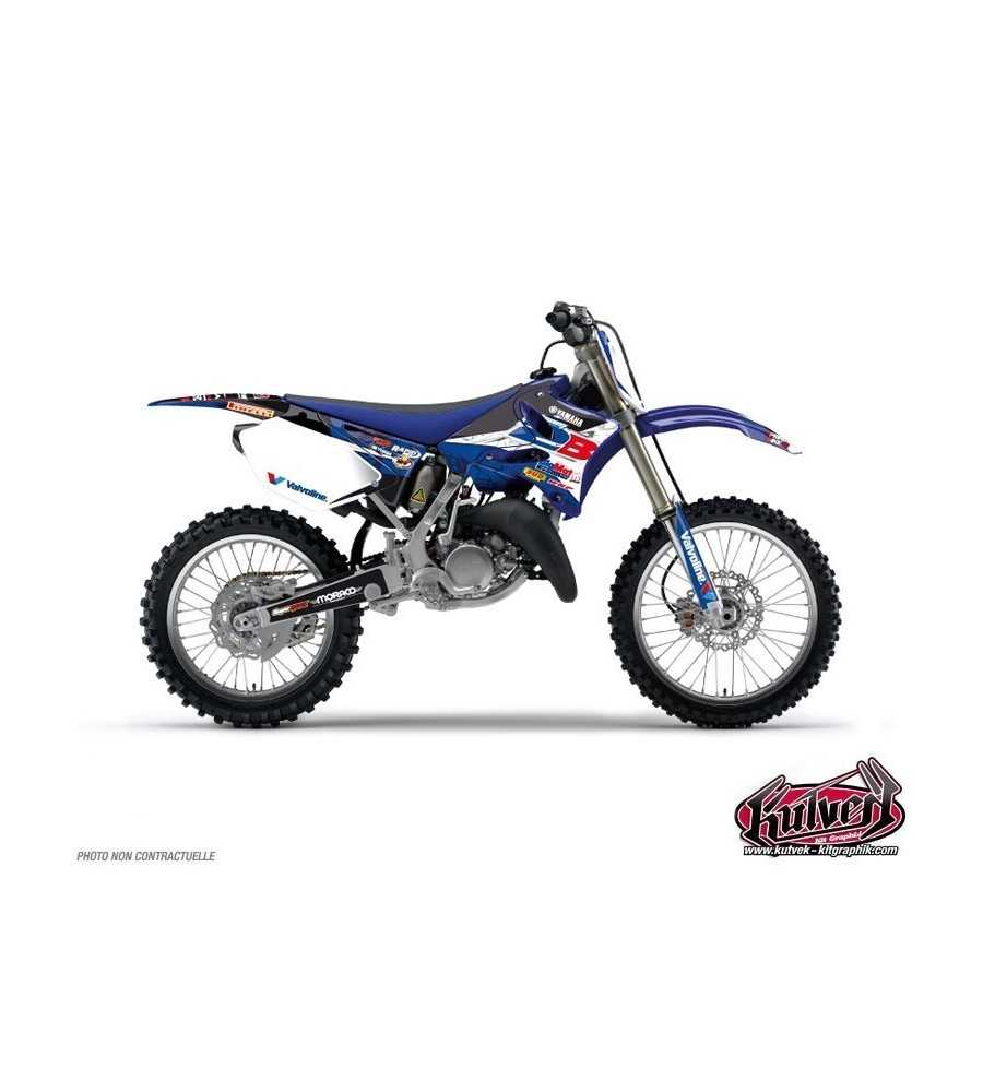 kit d co yamaha 125 250 yz team 2b 2013 yz 125. Black Bedroom Furniture Sets. Home Design Ideas