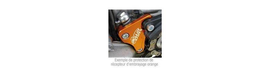 Protection récepteur d'embrayage